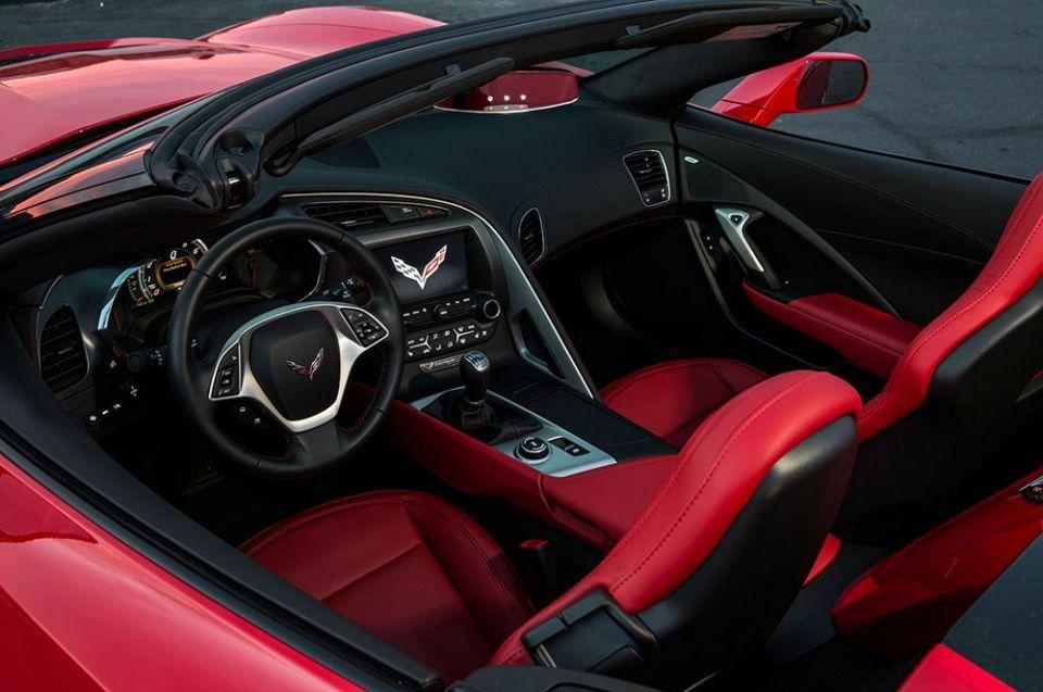 Corvette Enterijer