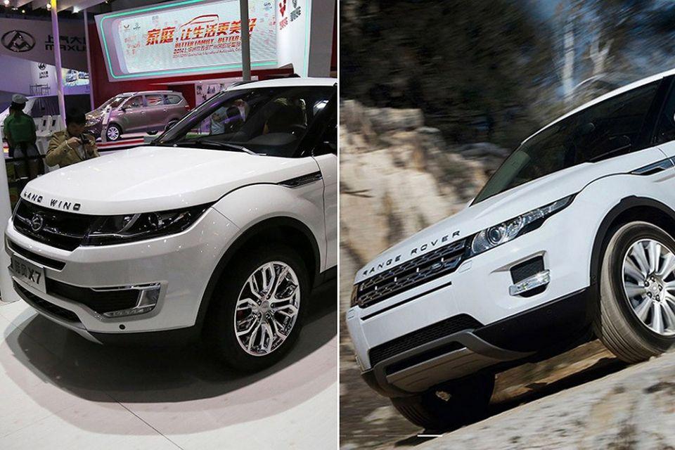 Landwind X7 Kineska kopija Range Rovera