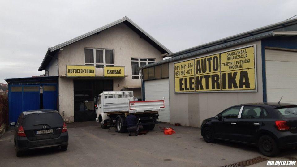 GRUBAC AUTO-ELEKTRIKAIndustrijski remont alnasera i alternatora za sve tipove autobusa i gradjevinske mehanizacije.Kruzni put br 74, 11309 Lestane, Beograd kontakt broj: 063 600-677