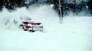 VW Golf R32 Mk4 | Snow drift for fun | VW Golf snow drift