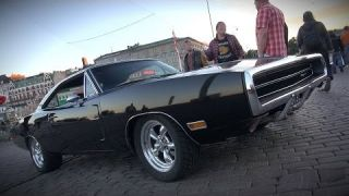 1970 Dodge Charger 500 572 Hemi - insane V8 and exhaust sound!