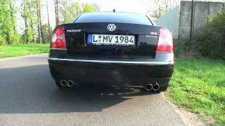 VW Passat W8 - Tuning + Sound