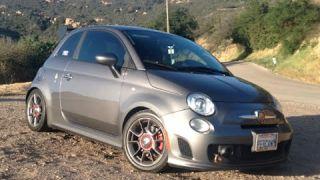 Modified Fiat 500 Abarth - (Westlake Rd) One Take